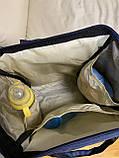 Сумка - рюкзак для мам Mommybaby/Мами бэйби  ->  синий цвет, фото 7