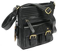 Мужская кожаная сумка Always Wild C48.0525 черная, фото 1
