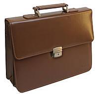 Портфель из кожезаменителя 4U Cavaldi B020139S Brown, фото 1