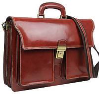Портфель мужской из натуральной кожи TOMSKOR 81582, фото 1