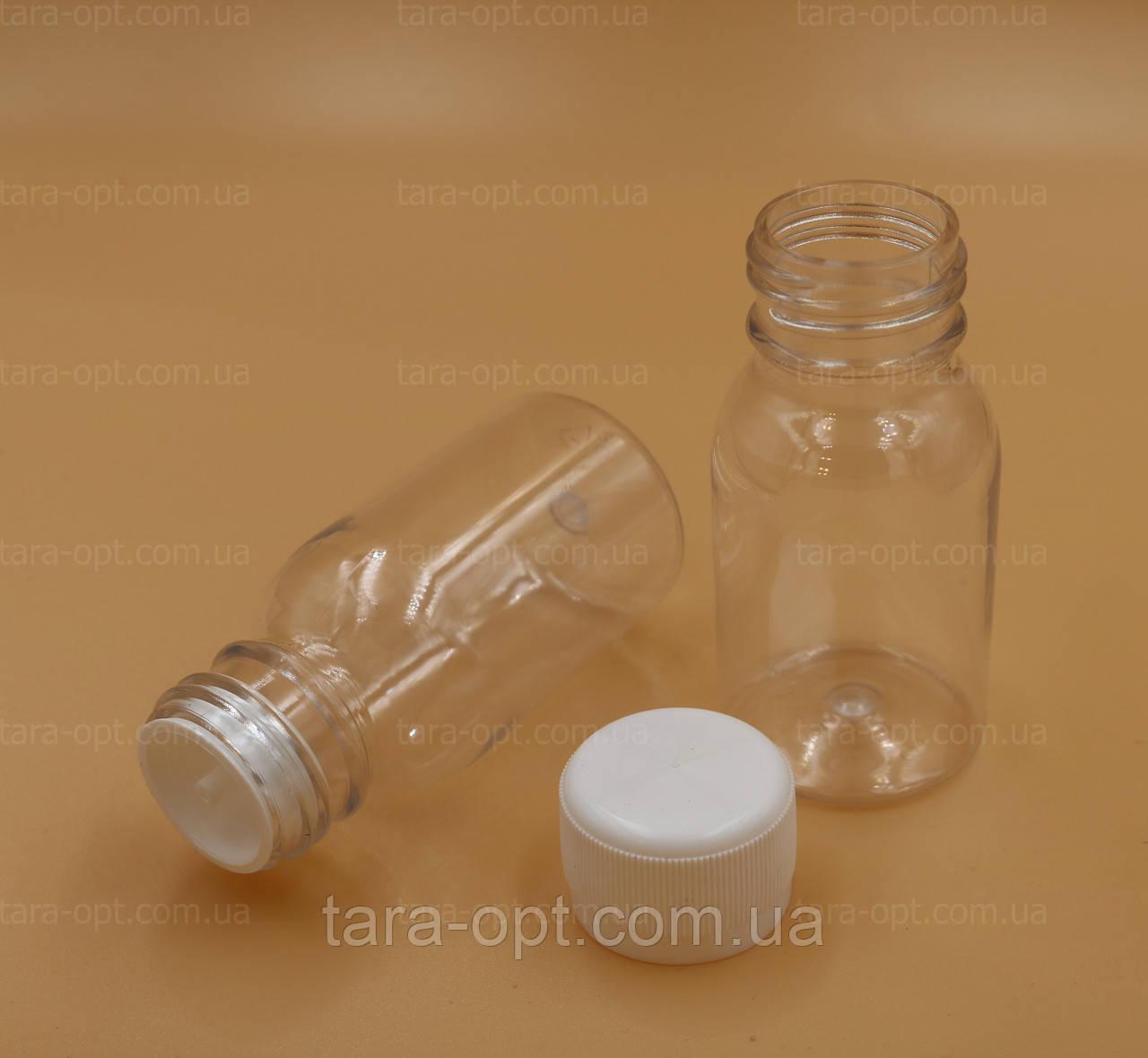 Пляшка пет з крапельницею 50 мл