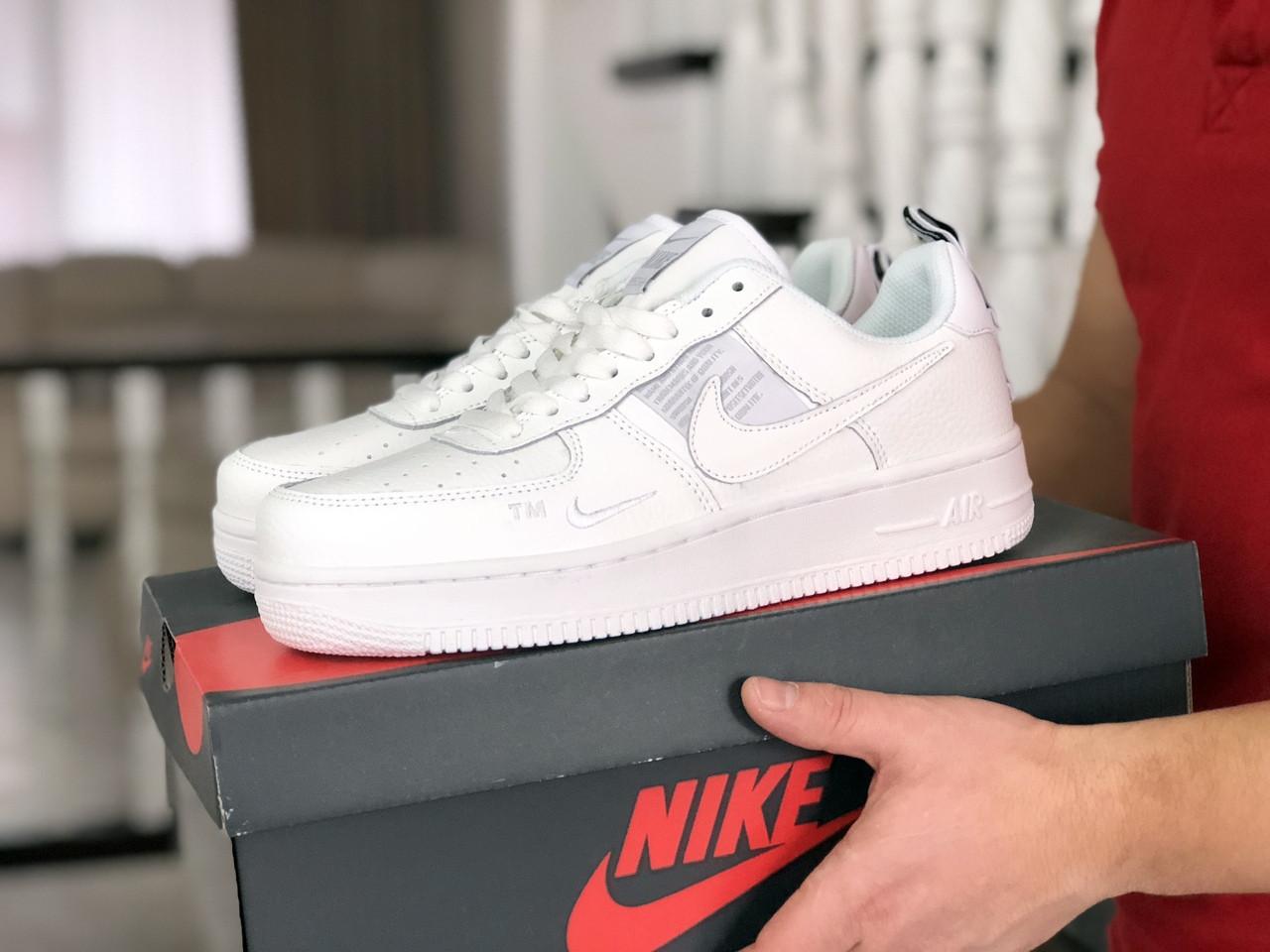 Мужские кроссовки Nike Air Force белые