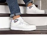 Мужские кроссовки Nike Air Force белые, фото 2