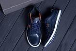 Мужские кожаные кроссовки  Е-series Wayfly Blue (реплика), фото 10