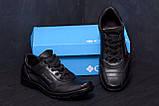 Мужские кожаные кроссовки Columbia ZK (реплика), фото 9