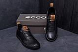 Мужские кожаные кроссовки E Collection (реплика), фото 7