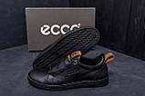 Мужские кожаные кроссовки E Collection (реплика), фото 8