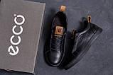 Мужские кожаные кроссовки E Collection (реплика), фото 9