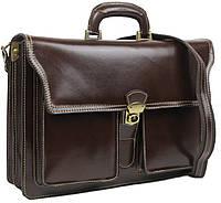 Большой мужской кожаный портфель TOMSKOR 81578, фото 1