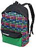 Молодежный рюкзак PASO 12L, 00-220PAN разноцветный