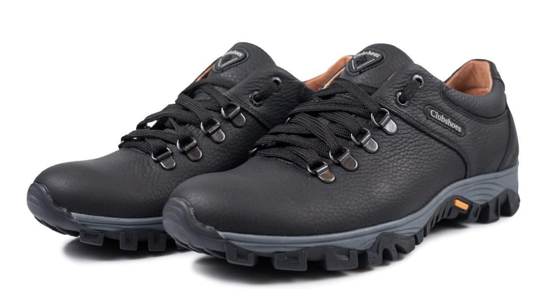 Кроссовки  clubshoes  коламбия мужские кожаные черные