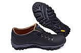 Кроссовки  clubshoes  коламбия мужские кожаные черные, фото 6