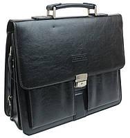 Мужской портфель из эко кожи Bellugio YP-12042 черный, фото 1