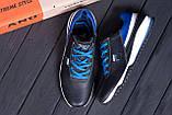 Мужские кожаные кроссовки FILA Biue (реплика), фото 10
