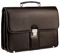 Мужской портфель из эко кожи AMO Польша SST08 коричневый, фото 1