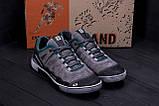 Мужские кожаные кроссовки Salomon Grey and Green Trend (реплика), фото 9