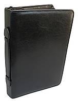 Папка деловая с ручкой из эко кожи JPB Польша AK-10 чёрная, фото 1