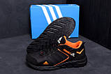 Мужские кожаные кроссовки Adidas Terrex  Orange (реплика), фото 7