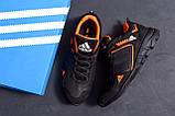 Мужские кожаные кроссовки Adidas Terrex  Orange (реплика), фото 10
