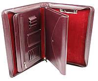 Женская папка для документов из эко кожи AMO SSBW06 бордовый, фото 1