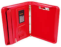 Женская деловая папка из кожзама AMO SSBW02 красный, фото 1