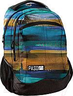 Рюкзак городской PASO 22L, 18-280816SI разноцветный, фото 1