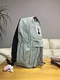 Рюкзак портфель женский оливковый (есть другие цвета), фото 3