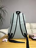 Рюкзак портфель женский оливковый (есть другие цвета), фото 4