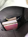 Рюкзак портфель женский оливковый (есть другие цвета), фото 7