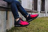 Мужские кроссовки Nike Air Max 720 черные с красным, фото 2