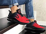 Мужские кроссовки Nike Air Max 720 черные с красным, фото 3