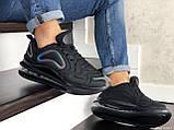 Мужские кроссовки Nike Air Max 720 черные, фото 2