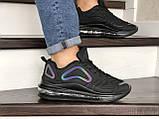 Мужские кроссовки Nike Air Max 720 черные, фото 4