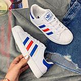 Кроссовки женские Adidas Superstar 00020 ⏩ [ 36.39 ], фото 3