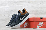 Мужские кожаные кеды Nike (Реплика) (Код: Крипс с/р  ) ►Размеры [40,41,42,43,44,45], фото 6