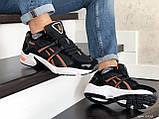 Мужские кроссовки Asics черно белые \ оранжевые, в наличии: 41,44, 45, 46, фото 3