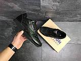 Мужские кроссовки Reebok Classic черные, фото 6