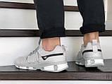Мужские кроссовки Adidas светло серые, фото 3
