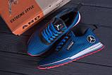 Мужские летние кроссовки сетка Jordan blue (реплика), фото 10