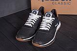 Мужские кожаные летние кроссовки, перфорация Reebok Classic black (реплика), фото 9