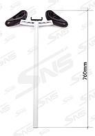 Ручка для гироскутера або гироборда з тримачем для телефону SNS M1Robot. Колір: чорний і білий.
