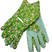 Перчатки садовые цветные