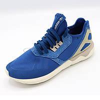 Кроссовки беговые мужские стоковые Размер 41,5 (голубой цвет)