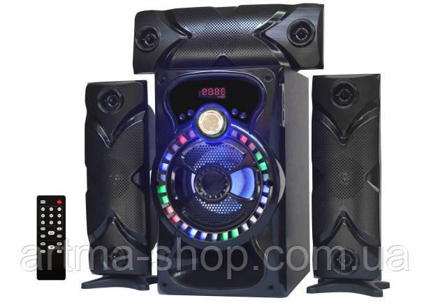 Акустические система AiLiang 3.1 колонка, Мощность 100Ватт X-BASS USB, Радио, Пульт управления, Bluetooth