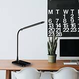 Настольный светодиодный светильник Feron DE1732 6W Черный, фото 4