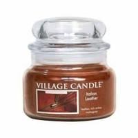 Арома свеча Village Candle Итальянская кожа (время горения до 55 ч)