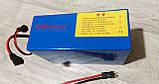 Аккумулятор для электровелосипеда 48В 12Ач  Литиевый аккумулятор, фото 6