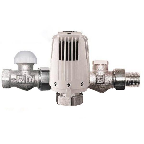 Термостатическая прямой комплект Herz 1/2 V772301