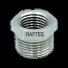 "Фитинг футорка Raftec 1 1/2""х1"" F0503, фото 2"
