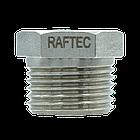 "Фитинг футорка Raftec 1 1/2""х1"" F0503, фото 3"